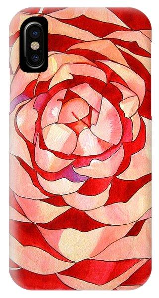 Pink Camellia Macro Phone Case by Sacha Grossel