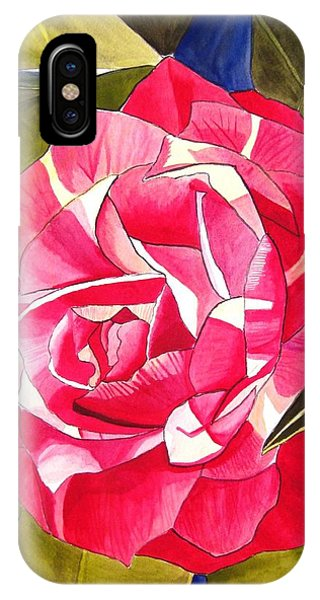 Pink Camellia Phone Case by Sacha Grossel