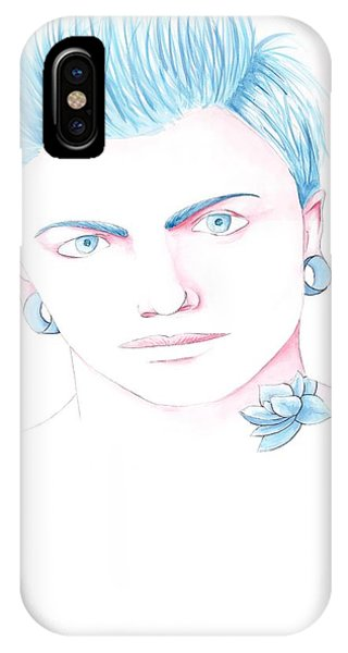 Pink Phone Case by Chantelle King
