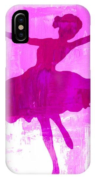 Pink Dancer IPhone Case