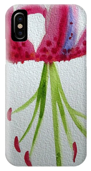 Pink Day Lily Phone Case by Sacha Grossel