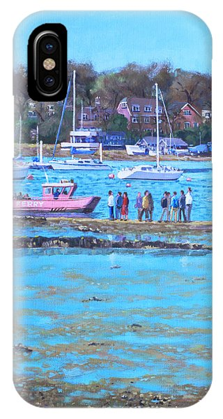 Pink Ferry On The River Hamble IPhone Case