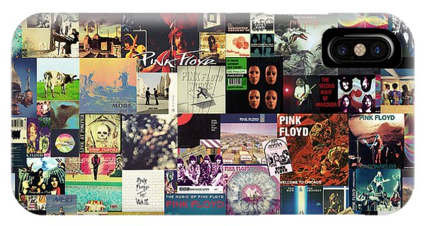 Pink Floyd Collage I IPhone Case