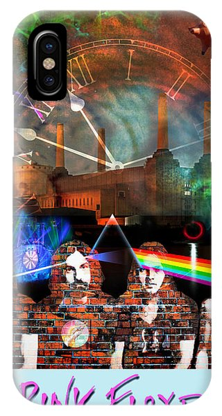 Pink Floyd Collage IPhone Case