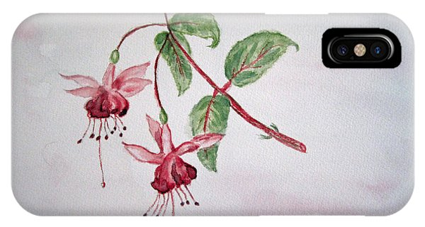 Pink Fuchsia's  IPhone Case