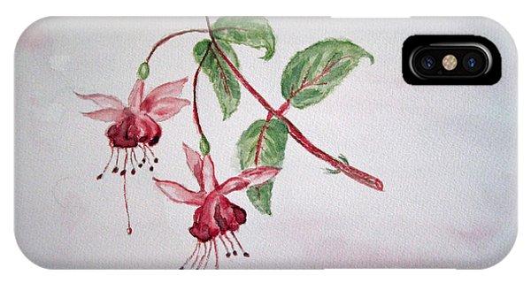 Pink Fuchsia's  IPhone Case