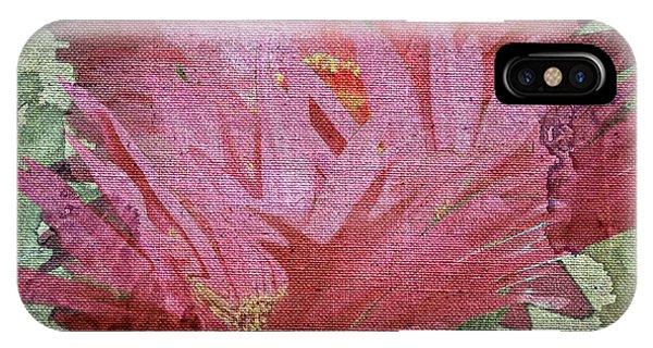 Pink Ganzias IPhone Case