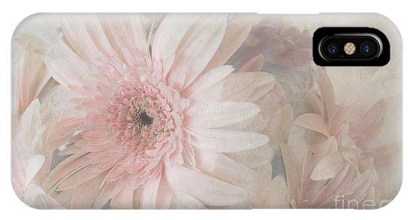 Pink Gerberas IPhone Case