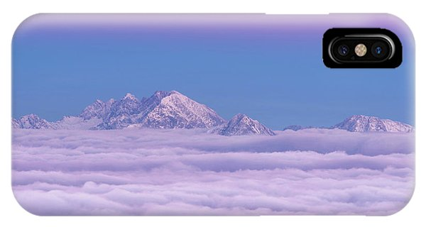 Fog iPhone Case - Pink In The Sky by Ales Krivec