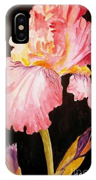 Pink Iris IPhone Case