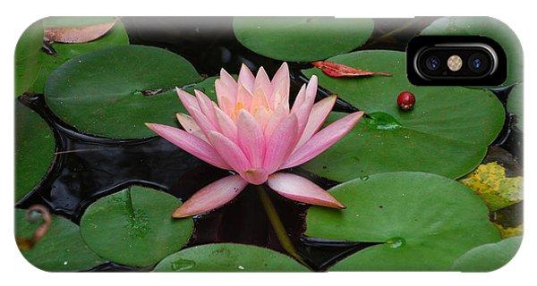 Pink Lotus Love 2 IPhone Case