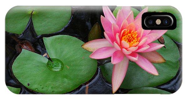 Pink Lotus Love IPhone Case