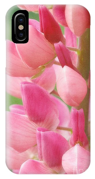 Pink Lupine 974 IPhone Case
