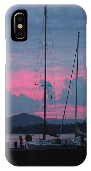 Pink Night IPhone Case