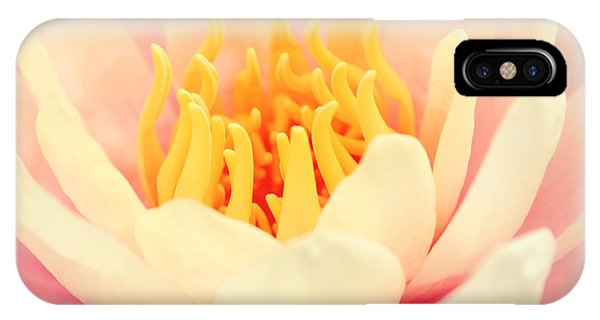 Pink Nymphea IPhone Case