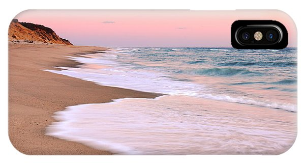 Pink Pastel Beach And Sky IPhone Case