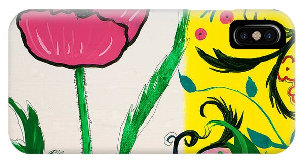 Pink Poppy And Designs IPhone Case