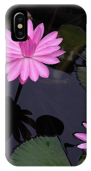 Pink Pose Phone Case by Geri Glavis