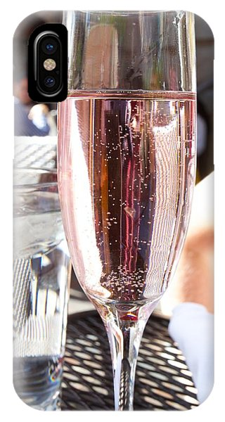 Pink Prosecco IPhone Case