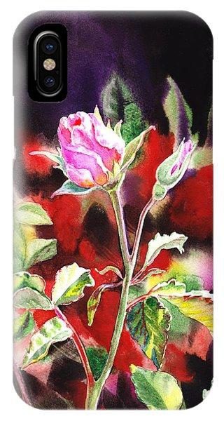 Pink Rose Bloom IPhone Case
