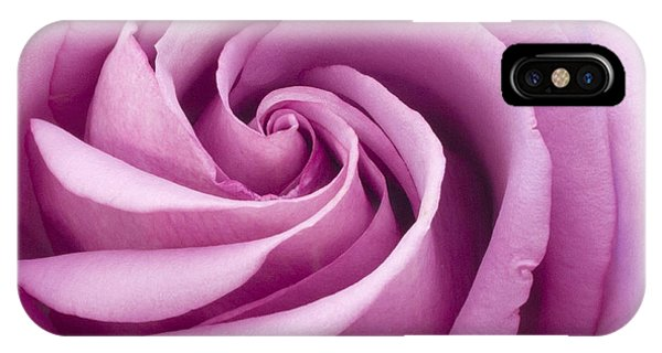 Pink Rose Folded To Perfection IPhone Case