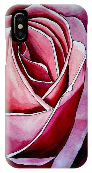 Pink Rose Macro Phone Case by Sacha Grossel