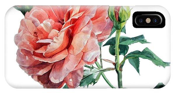 Pink Rose Odette  IPhone Case
