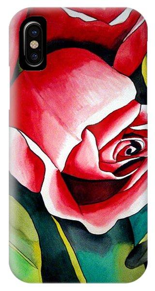 Pink Rosebud Phone Case by Sacha Grossel