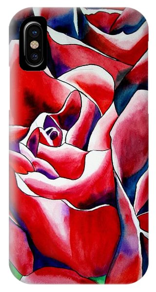 Pink Roses Phone Case by Sacha Grossel