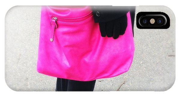 Bright iPhone Case - Pink Shoulder Bag by Matthias Hauser