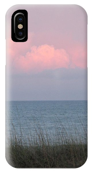 Pink Sky Phone Case by Cheryl Smith