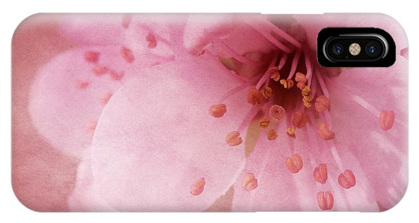 Pink Spring Blossom IPhone Case