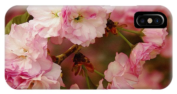 Pink Spring Blossoms IPhone Case