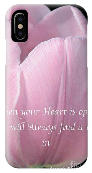 Pink Spring Tulip IPhone Case
