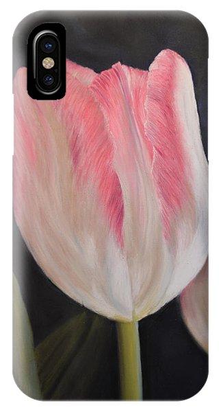 Pink Tulip IPhone Case