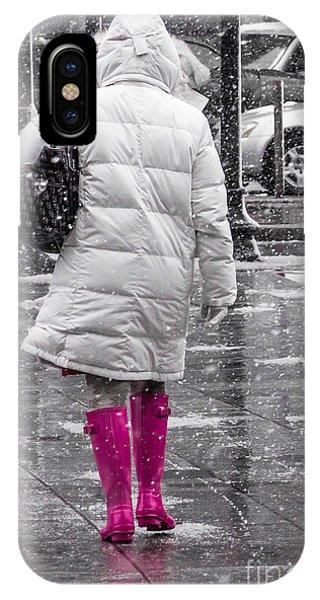 Pink Walk IPhone Case