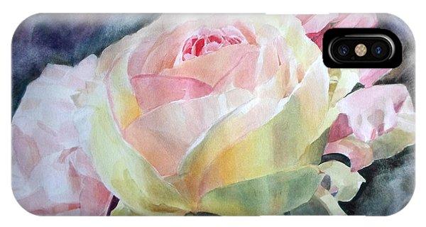Pink Yellow Rose Angela IPhone Case