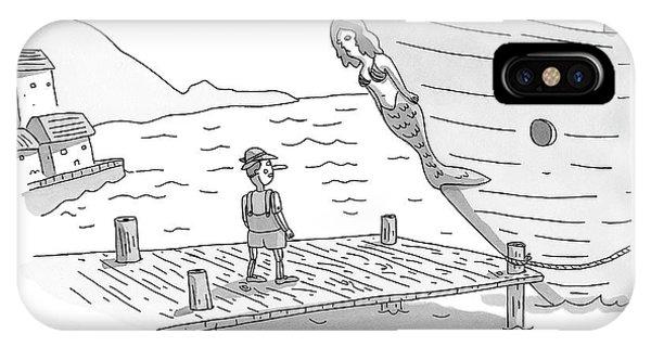 Pinocchio Addresses The Wooden Mermaid IPhone Case