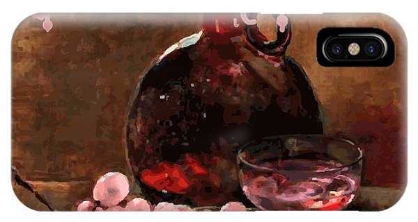 iPhone Case - Pinot Noir Vintage Advertisement by