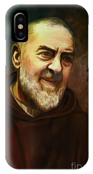 Pio Of Pietrelcina IPhone Case
