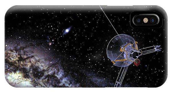 Pioneer Spacecraft In Interstellar Space Phone Case by Nasa