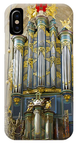Pipe Organ In Breda Grote Kerk IPhone Case