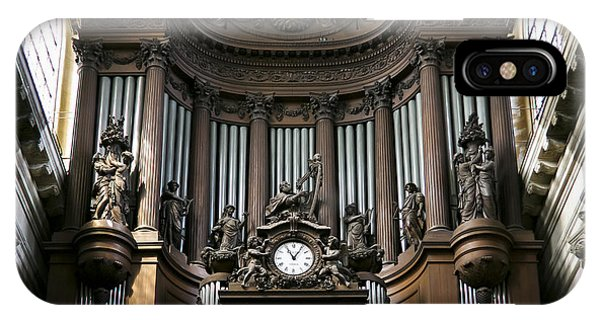 Pipe Organ In St Sulpice IPhone Case