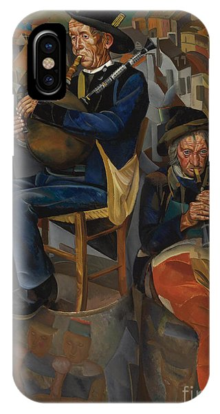 Russian Impressionism iPhone Case - Pipe Players by Celestial Images