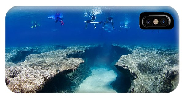 Pipeline's Hungry Reef IPhone Case