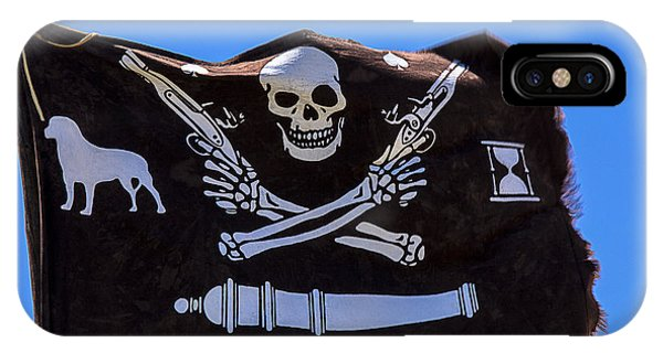 Pirate Flag With Skull And Pistols IPhone Case