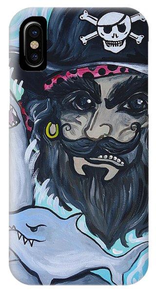 Pirate Shark Tank IPhone Case
