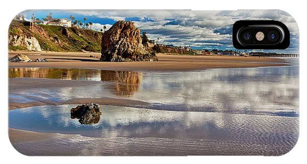 Pismo Beach At Low Tide IPhone Case