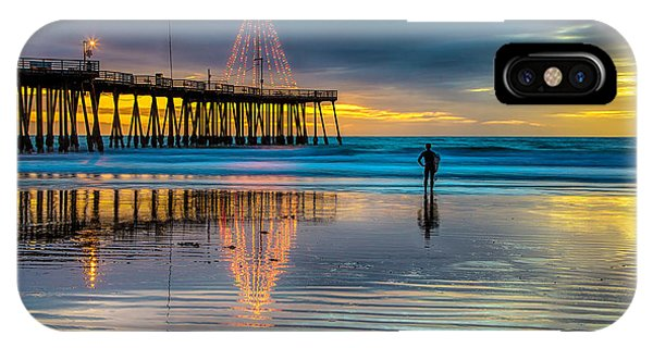 California Christmas IPhone Case