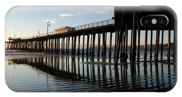 Pismo Beach Pier IPhone Case